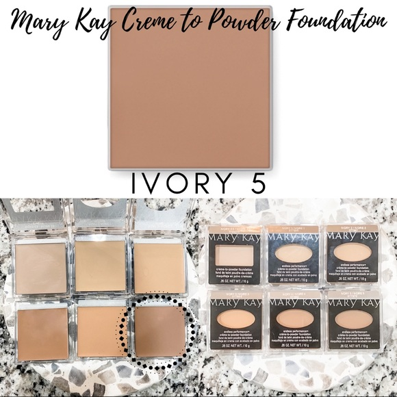 Mary Kay Creme to Powder Foundation In Ivory 5.